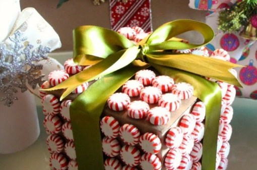Gift Wrapped in Candy Sweets