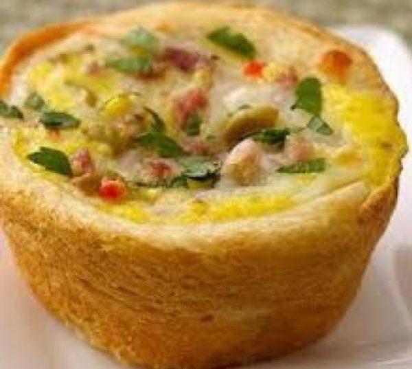 Muffuletta Egg Muffins