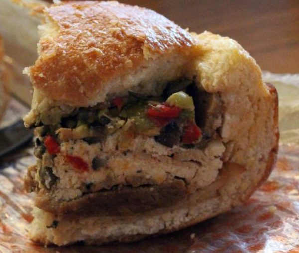 Vegan French Quarter Muffuletta