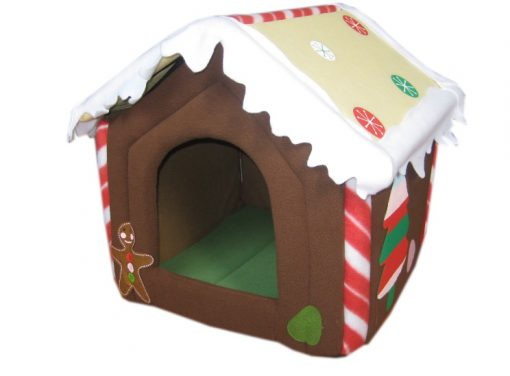 Christmas Pet House