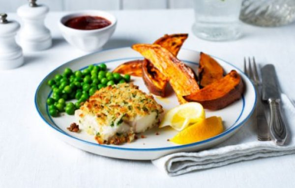 Healthy Breaded Fish & chips