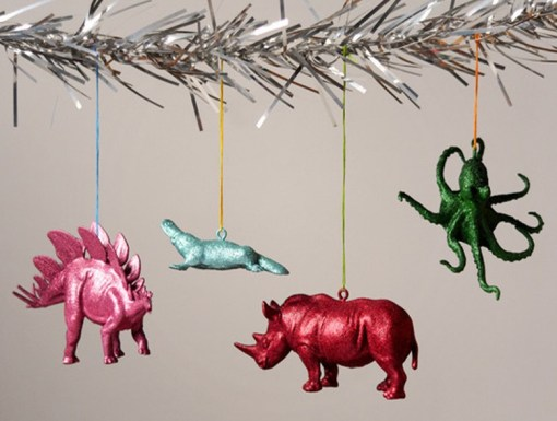 Plastic Toys Recycled Into Christmas Tree Decorations
