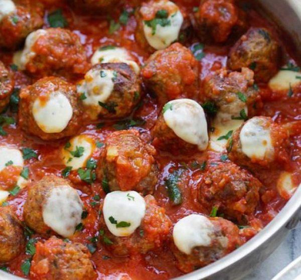 One Pot Meatball Casserole