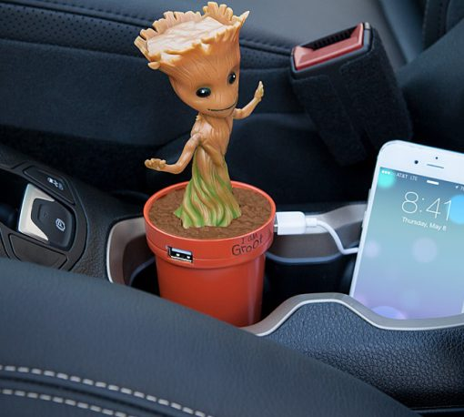 Baby Groot USB Car Charger