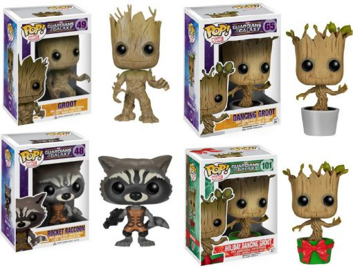Pop! Guardians of the Galaxy Bobble Head Figures