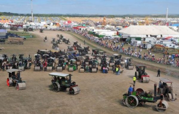 Largest Parade of Steam Rollers