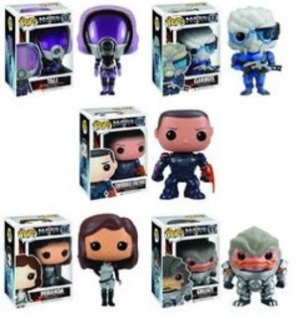 Mass Effect Pop! Characters