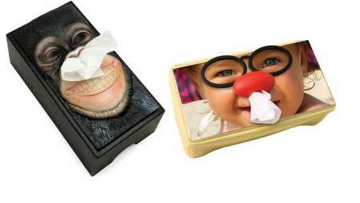 Funny Photos Tissue Holder