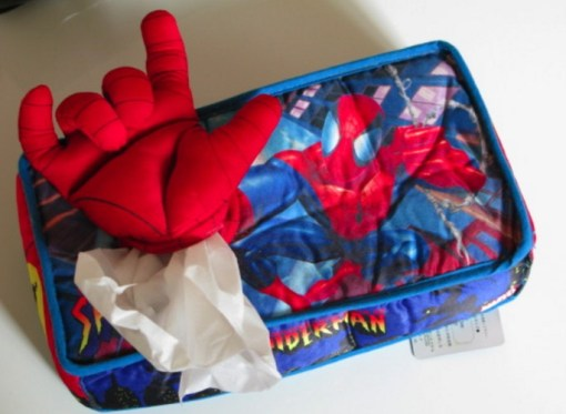 Spider-Man Tissue Holder