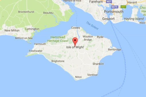 Isle of Wight, England - Google Maps