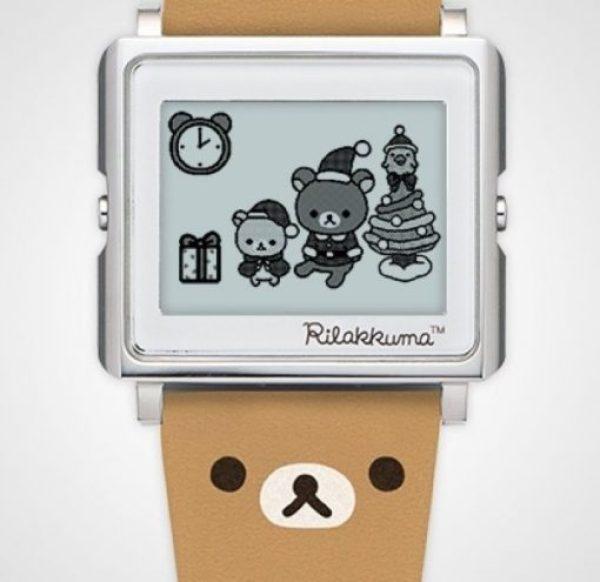 Rilakkuma Smart Canvas Wristwatch