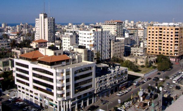 Gaza Strip Population Density