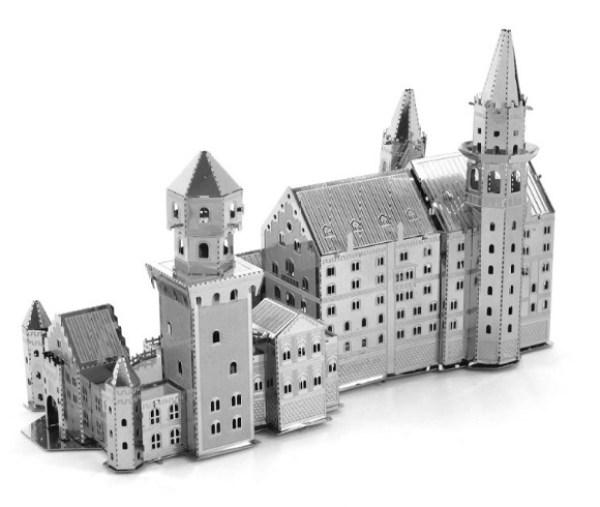 Swan Lake Fort Metal Model Building Kit