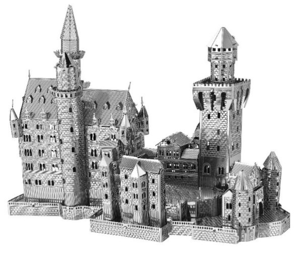 Neuschwanstein Castle Metal Model Building Kit