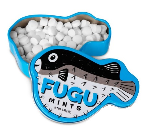 Fugu Flavoured Mints