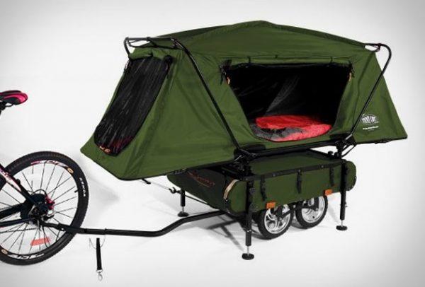 Bicycle Camper Trailer