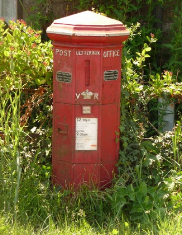 Pillar Box in Barness Cross, Dorset