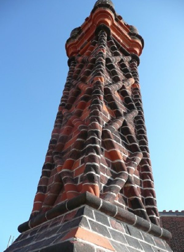 Hampton Court Palace Chimney