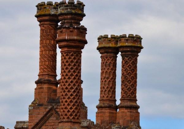 Holkham Hall Chimney