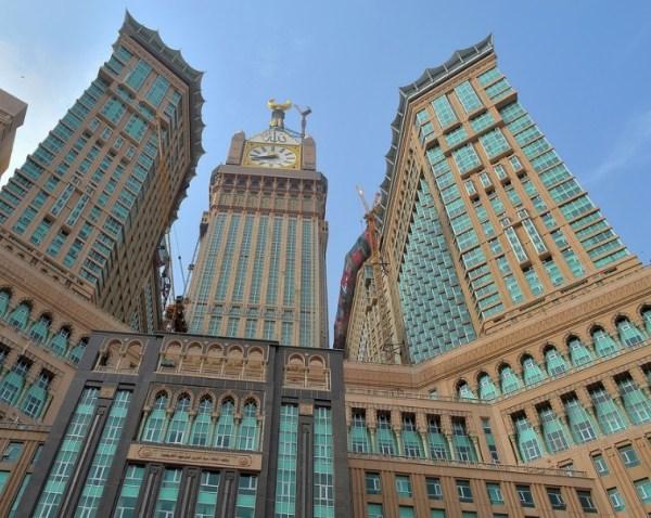 Abraj Al-Bait Clock Tower, Saudi Arabia