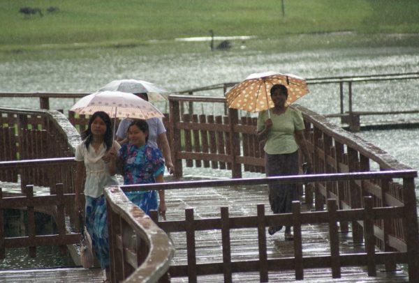 Moulmein, Burma in the Rain