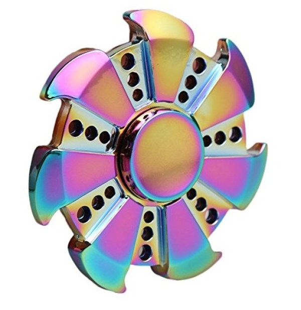 Walwh Wind Wheel Fidget Spinner