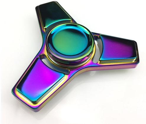 Aluminum Alloy Fidget Spinner