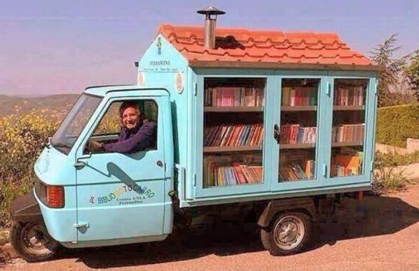 House Van Mobile Library