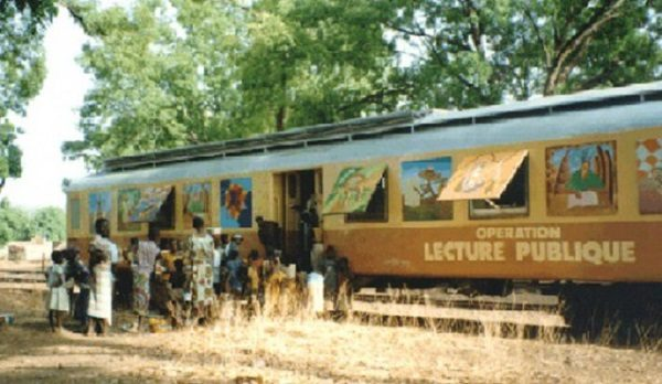 Mobile Library Train