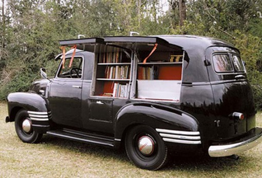Mobile Library Chevy Van