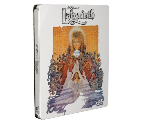 Jim Henson's Labyrinth: 30th Anniversary Steelbook Blu-Ray