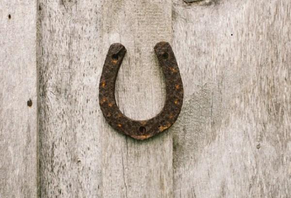 Horseshoe on the Wall
