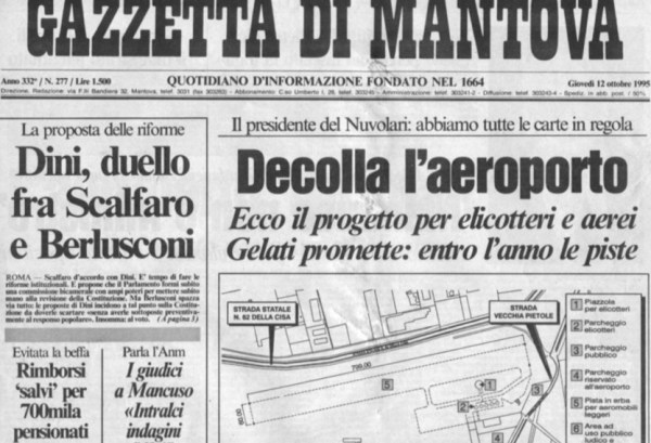 La Gazzetta di Mantova Newspaper