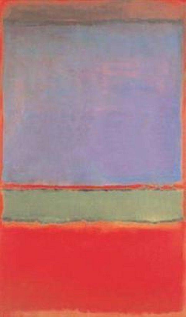 No. 6 by Mark Rothko