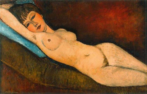 Nu Couché by Amedeo Modigliani