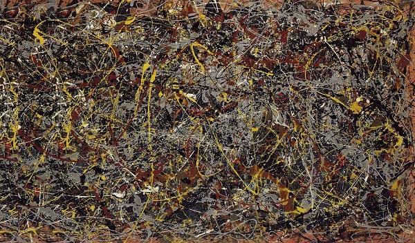 No. 5, 1948 by Jackson Pollock