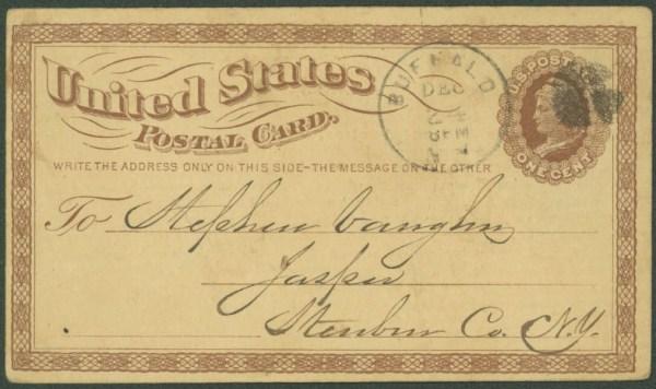 Pioneer Postcard