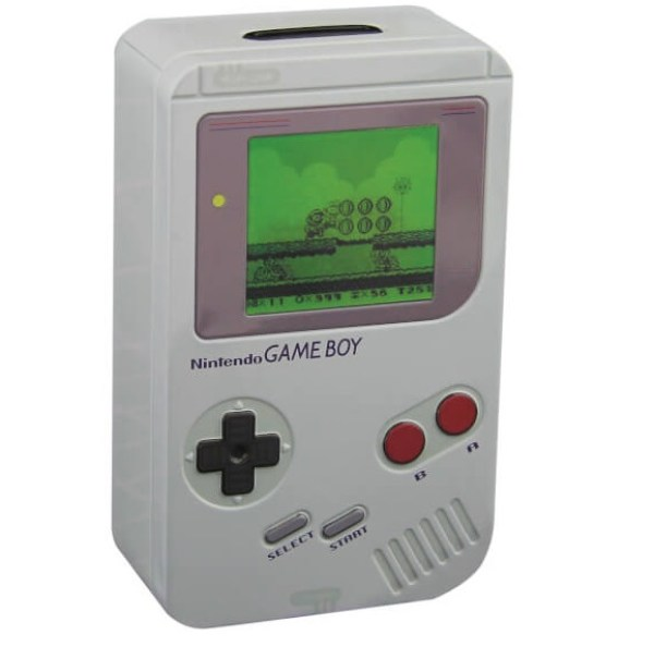 Nintendo Game Boy Tin Money Box