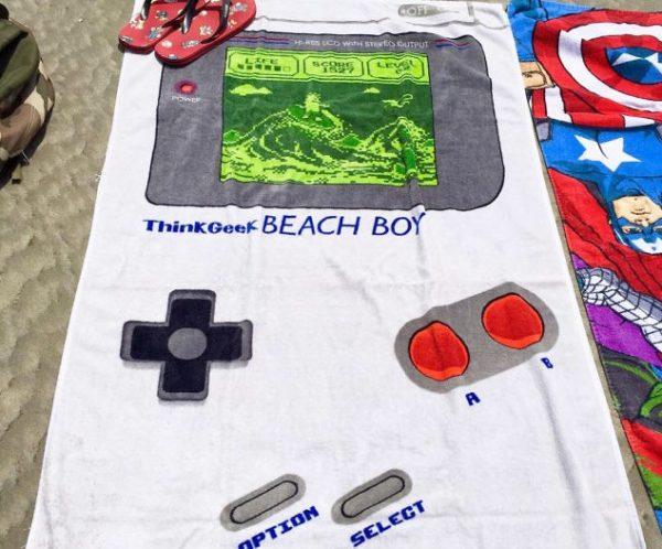 Nintendo Game Boy Beach Towel