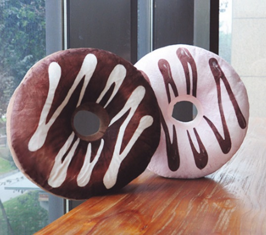 Chocolate Donuts Pillows