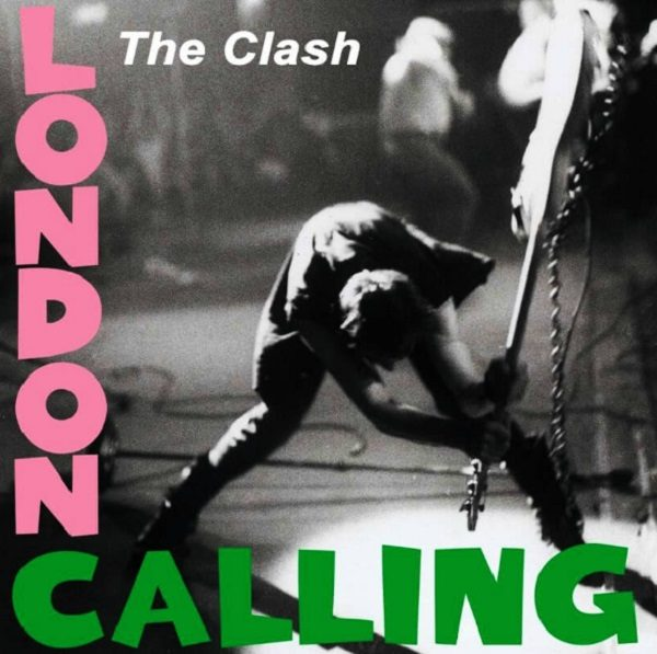 Original Artwork for London Calling By The Clash