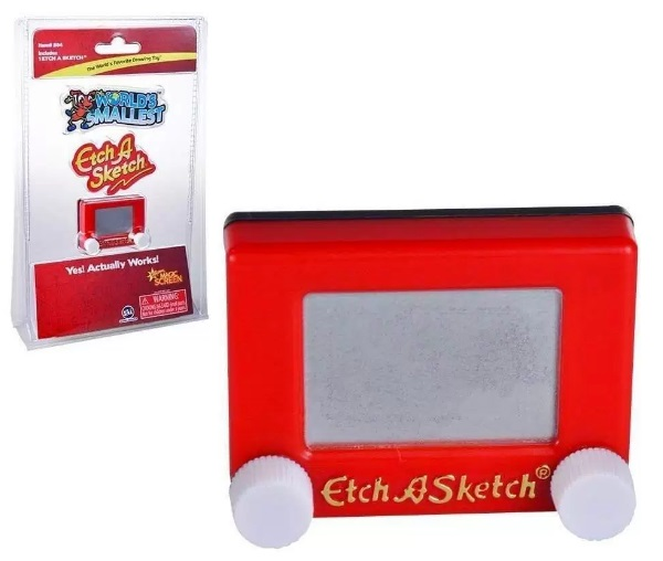 The world's Smallest Etch A Sketch