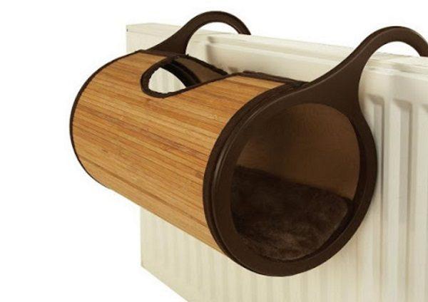 Radiator Bamboo Cat Bed: