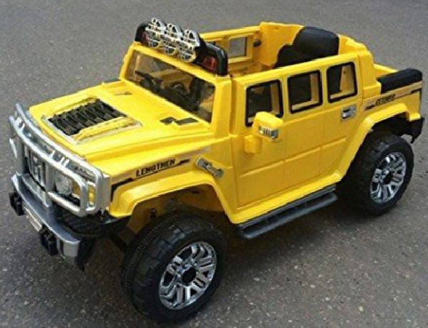 Kids Ride-on Powered Yellow Hummer