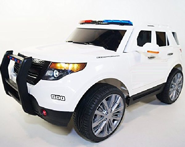 Kids Ride-on Powered Ford Explorer Police Car