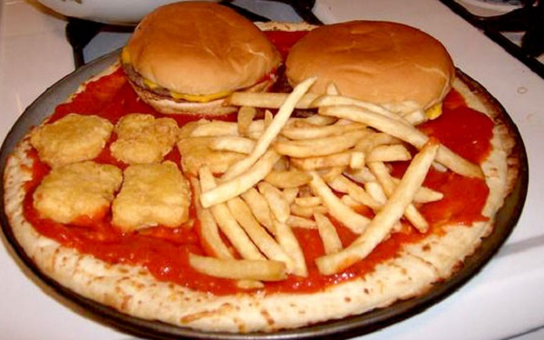 The McD's Savermeal Special Pizza