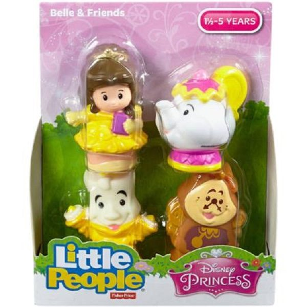 Fisher Price's Little People Beauty and the Beast Set