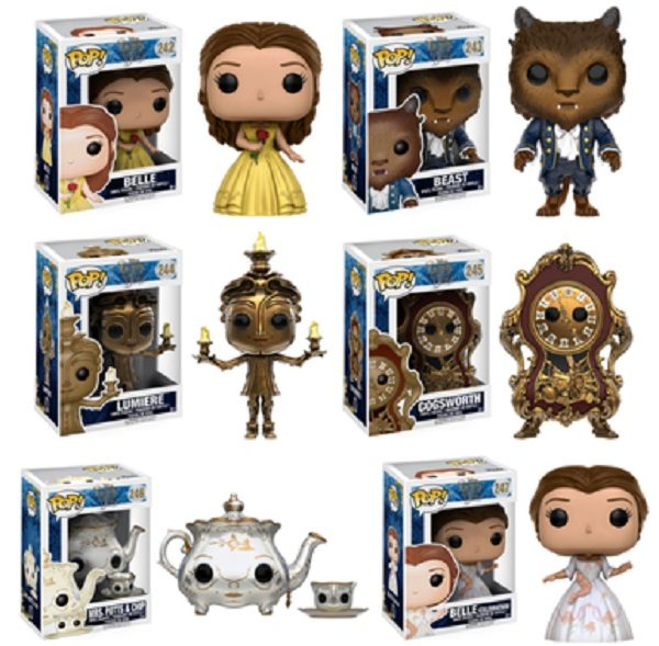 Beauty and the Beast Pop! Characters