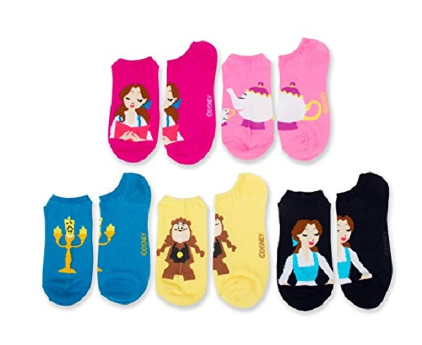 Beauty and the Beast Ankle Socks