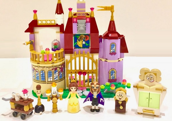 Beauty and the Beast Lego Set